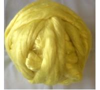 Вискоза для валяния, 10 гр. Россия. Цвет - Лимон